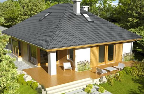 Крыши одноэтажных домов своими руками