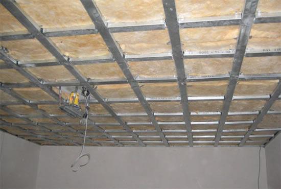 Как сделать обрешетку гипсокартона для потолка