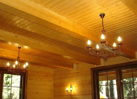 Вагонка потолок своими руками